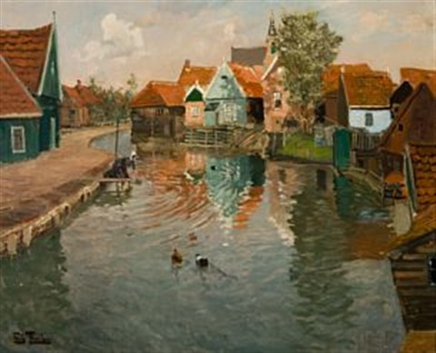rennende vann by frits thaulow