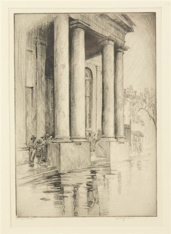 st phillips in the rain by elizabeth oneill verner