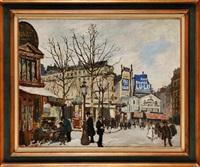 rue de paris animée by marcel françois leprin