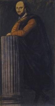 ritratto di william shakespeare by achille funi