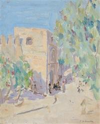 paysage de tunisie by jules lellouche