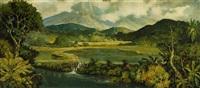 indonesian landscape by soerjosoebroto abdullah