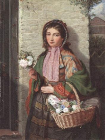 the flower girl by james h edgar
