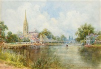 the thames at marlow by walter duncan