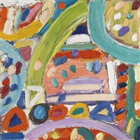 the rock of tamdown i by gillian ayres