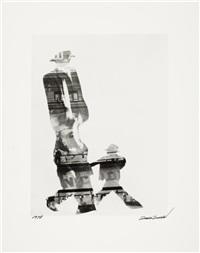 rat race (42nd st collage) by louis faurer