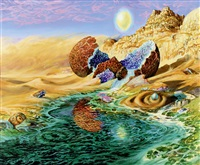 the ressurection of donald duck on mars by jim leon