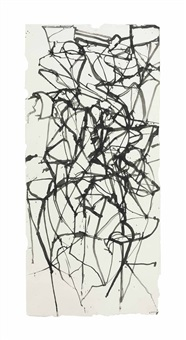 couplet painting study iii by brice marden