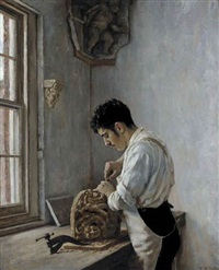 the wood carver by edgar melville ward