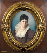portrait de femme by federico quercia