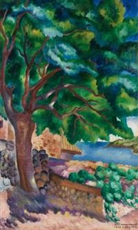 gurzuf landscape by ignati ignatevich nivinsky