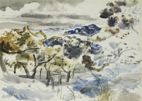 forest of dean by paul nash
