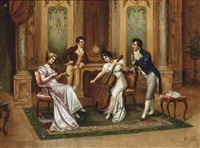 at the recital by frederick lenditz
