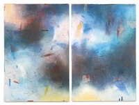 diptych (from the kin nah'zin ii series) by emmi whitehorse