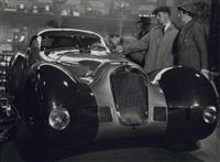 xxixe salon de l'automobile, hotchkiss roadster, grand sport, paris by andré steiner
