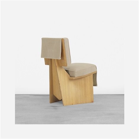 Remarkable Usonian Lounge Chair By Frank Lloyd Wright On Artnet Theyellowbook Wood Chair Design Ideas Theyellowbookinfo