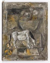 caballo surrealista con frutero by roberto montenegro