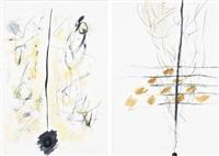 senza titolo (2 works) by luciano bartolini