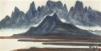 jioujiou peaks, caotun by shiy de-jinn