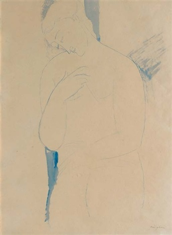 lodalisque bleue by amedeo modigliani