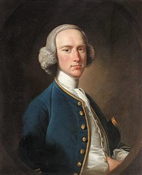 portrait of george hill, sergeant at law by henry pickering