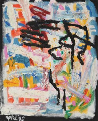 astratto by karel appel
