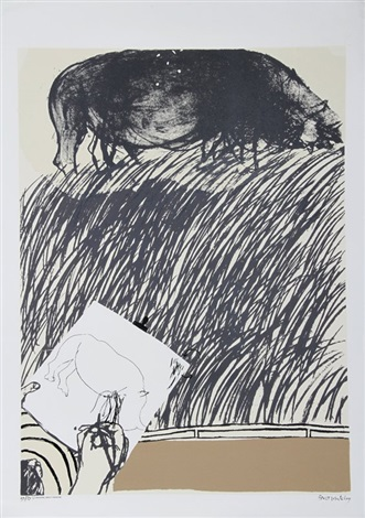 drawing about drawing by brett whiteley