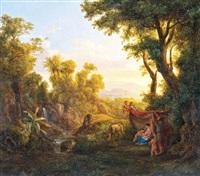 menekülés egyiptomba by karoly marko the elder