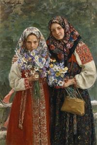 feldblumen by ivan semionovich kulikov