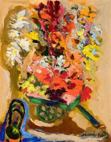 flowers by mané katz