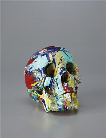happy head by damien hirst