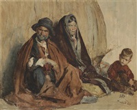 famille espagnole by henri regnault