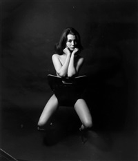 christine keeler, london by lewis morley