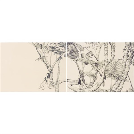 untitled (diptych) by su-en wong