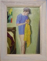 femme à la toilette by jean pesce