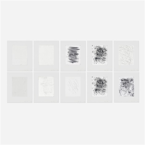 6 4 portfolio of 10 by christopher wool