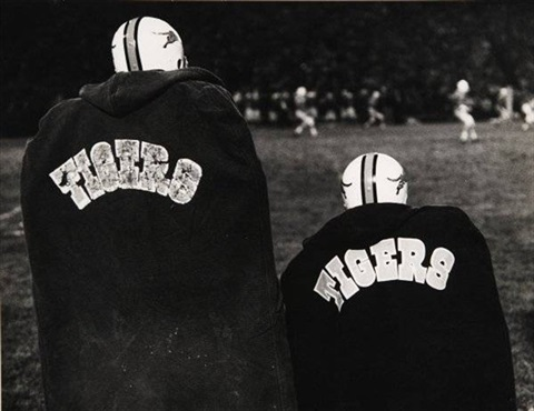 princeton football by roy decarava