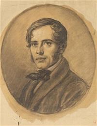 porträt eines jungen mannes by adolf henning