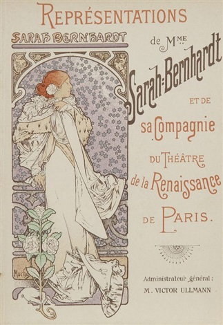 cartes menus illustrés couvertures illustrées 10 works by alphonse mucha