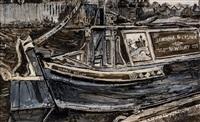 west mills wharf, newbury by fred yates