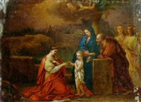 the mystic marriage of saint catherine by josef rattensperger