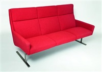sofa (model 856) by georg leowald