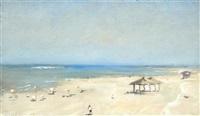 dan beach, tel aviv by ilan baruch