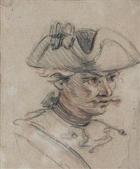 militaire au tricorne by charles parrocel