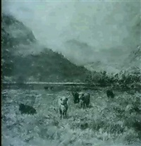 highland cattle by charles a. sellar
