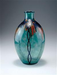 vase by marcel goupy