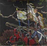 les canons du général lafayette (study) by guy arnoux