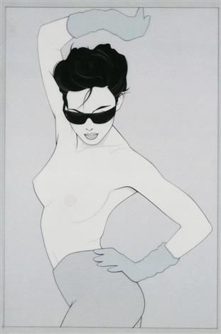 untitled sunglasses by patrick nagel