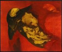 sin título (rojo) by gustavo aceves