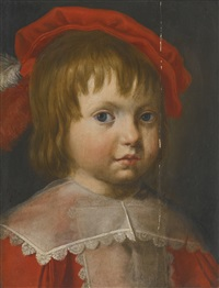 portrait of a boy, head and shoulders by flemish school (17)